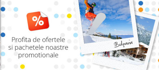 oferte promotionale la ski in bulgaria 2020